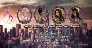 salsa ladies styling on Saturday May 19th, 2018